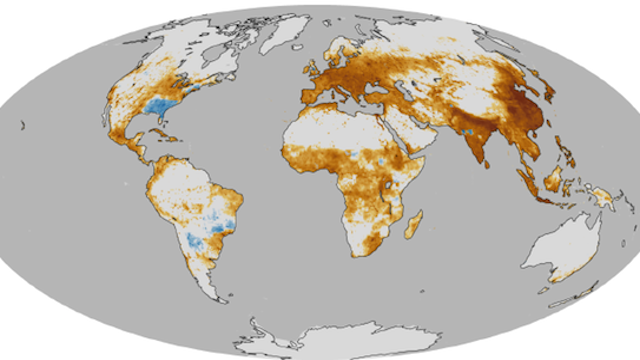 This NASA Map Tells You Where Air Pollution Is Most Likely