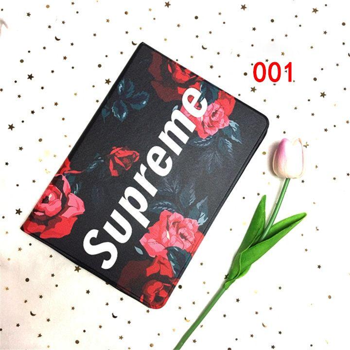 ipad mini 2 3 4 カバー シュプリーム ルイヴィトン lv アイパッド ケース pro 9 7 おしゃれ supreme ipad air2 手帳ケース ipad5 6 保護ケース ファッション 衝撃吸収 case book cover cover