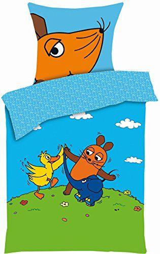 Aminata Kids Hübsche Lizenz Kinder Bettwäsche Sendung Mit Der Maus