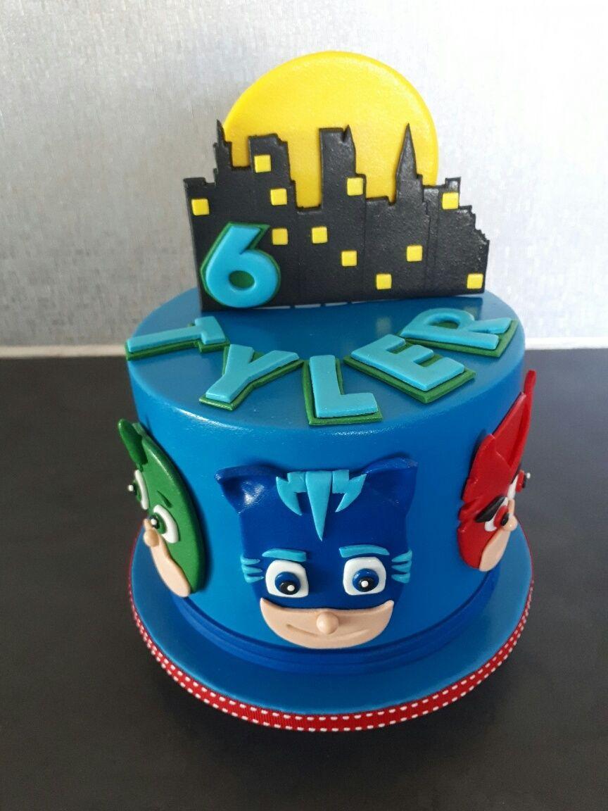 click to close  pj masks birthday cake boys bday cakes