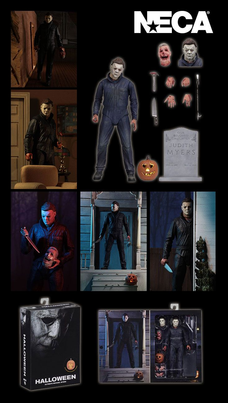Ultimate Michael Myers Halloween (2018) Action Figure
