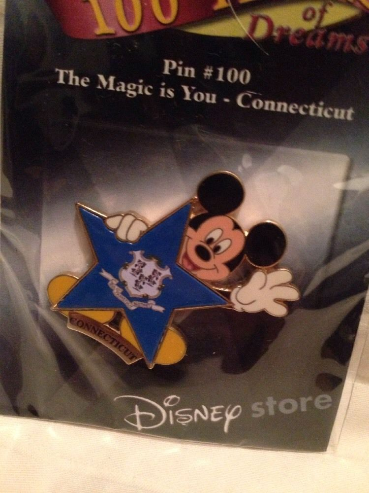 SEALED//NEW disney/'s 100 years of dreams-pin #100 magic is you-new york