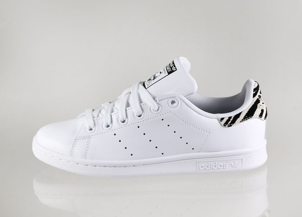 adidas stan smith blanc zebre
