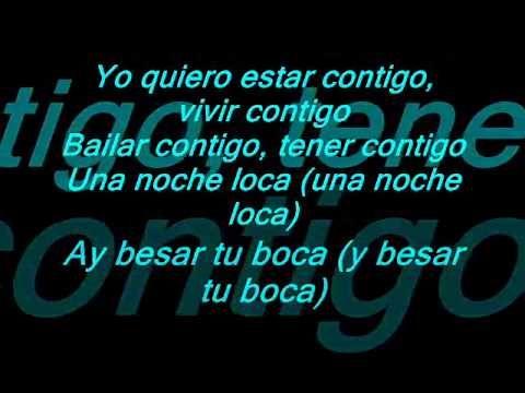 Enrique Iglesias Ft Gente de zona Bailando Letra lyrics original