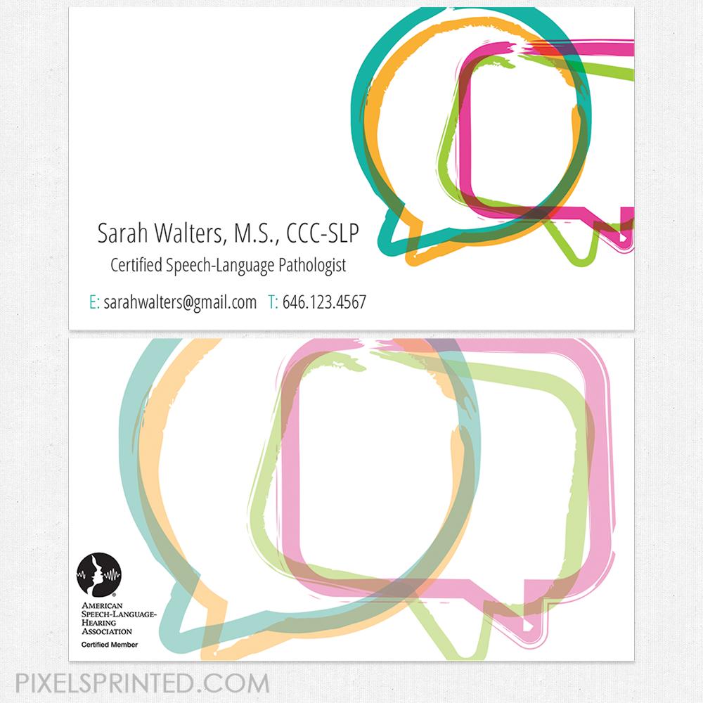 Speech language pathologist business cards slp business card slp speech language pathologist business cards slp business card slp business cards colourmoves