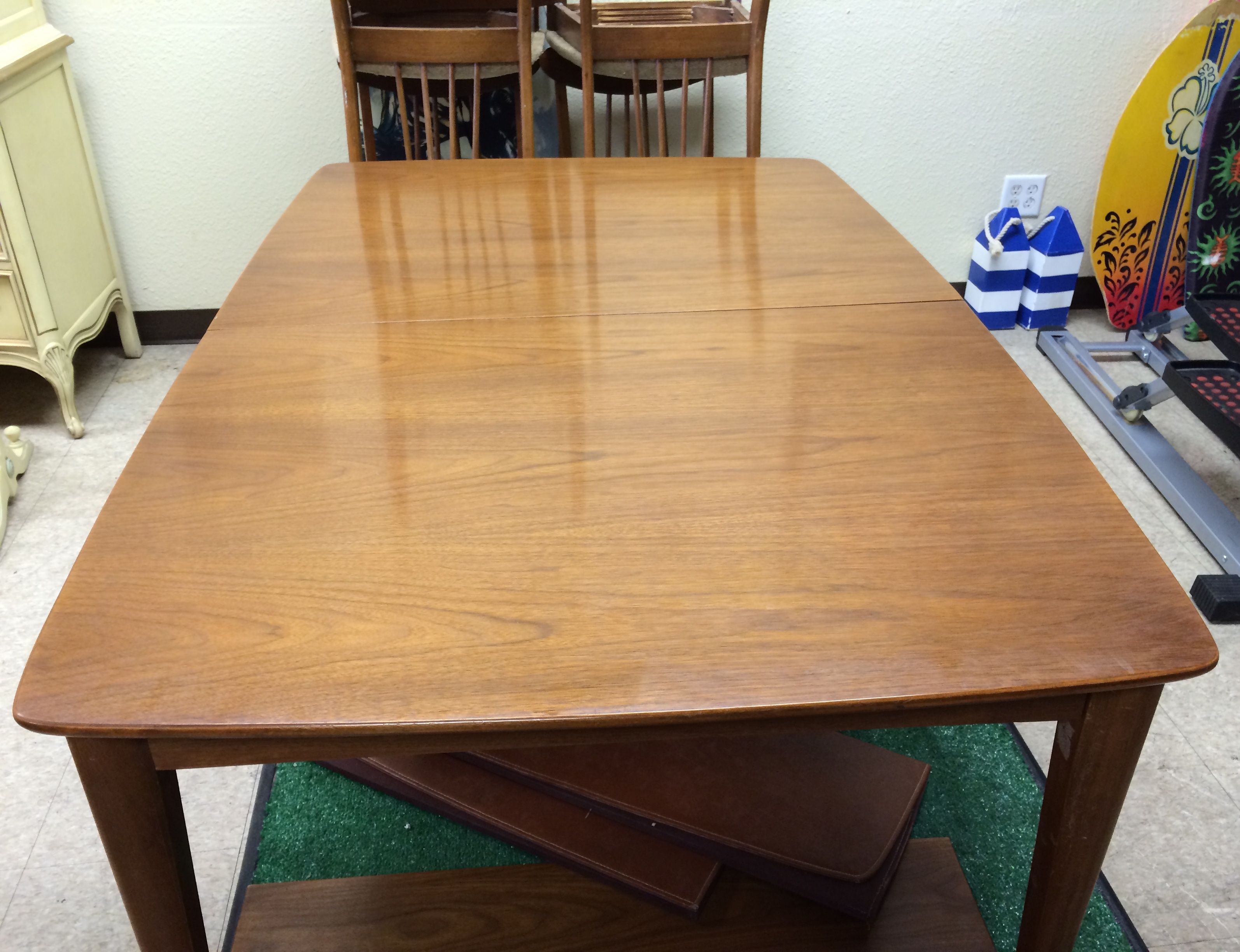 Superbe Walter Of Wabash Dinette Set (photo 1) Extremely Rare Walter Of Wabash Mid  Century
