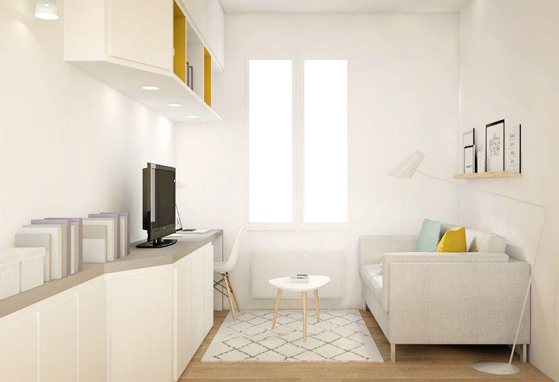 Petite surface am nagement studio r novation d coration agence d 39 architecture - Amenagement petite surface ...