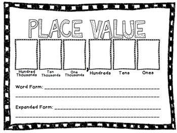 Place Value Worksheets place value worksheets hard : Pinterest • The world's catalog of ideas