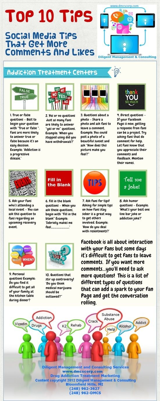 Social Media Tips That Get More Comments And Likes Socialmedia Homeofsocial Socialmediatips Social Media Infographic Social Media Social Media Tips