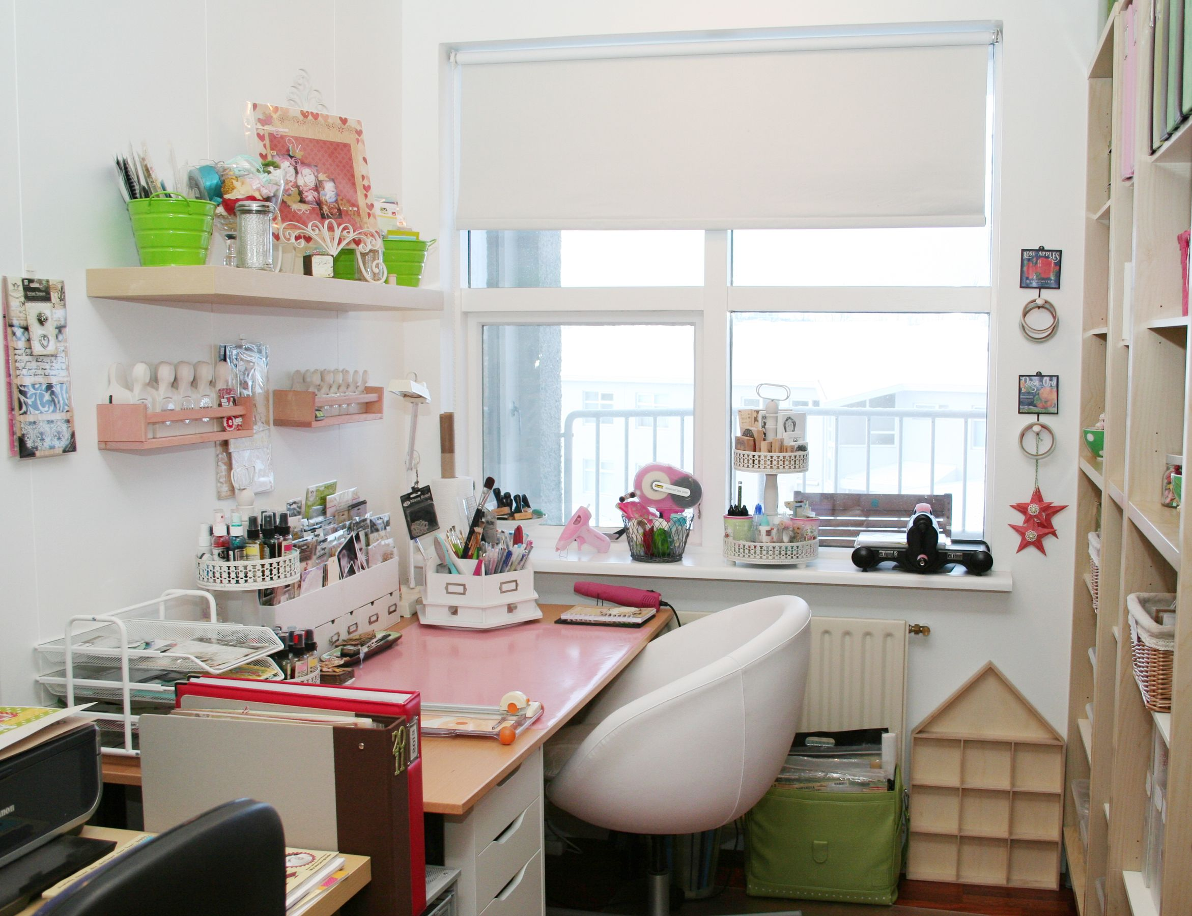 ideas for craft room chairs wood chair seat replacement parts desks and organization studio tour with anna sigga