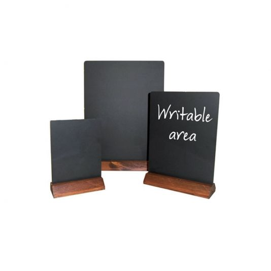 Table Top Chalkboard Menu Board   Pub Chalkboards   Chalkboards For  Restaurants   Chalk Menu Board   Smart Hospitality