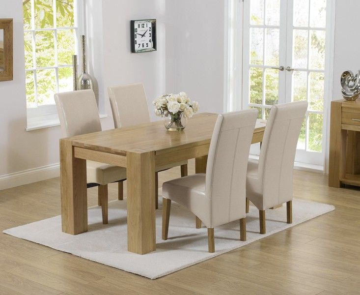 Buy The Thames 150Cm Oak Dining Table With Cannes Chairs At Oak Fair Dining Room Oak Furniture Decorating Inspiration