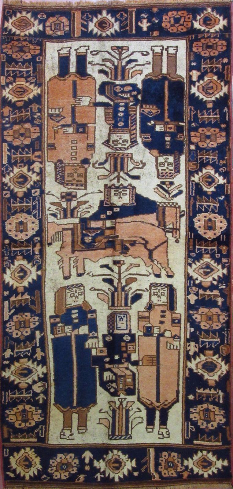 N. 334417 – BEHBAHAN – 255 x 120 cm. – Tappeti Orientali e Moderni ...