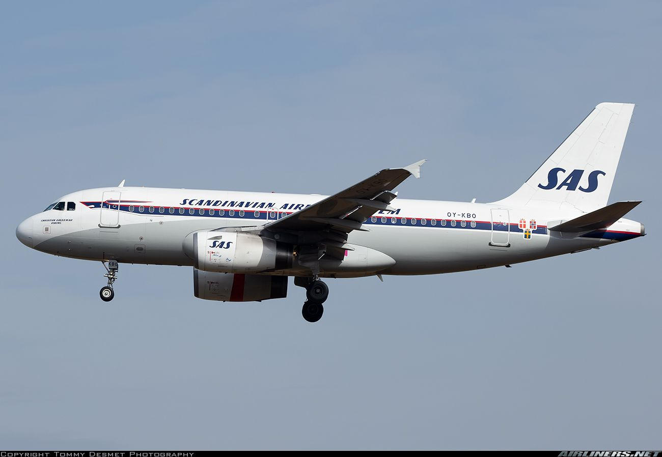 Airbus A319 132 Scandinavian Airlines System Sas Aviation Photo 4946257 Airliners Net Scandinavian Airlines System Airbus Airlines