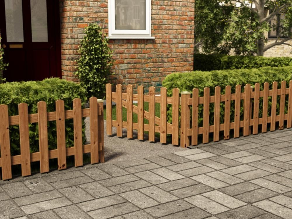 Short Picket Gate Materials For The Garden Fence For Garden Fences