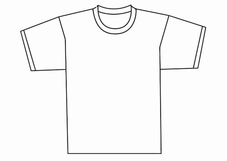 Best Photos Of Large Printable T Shirt Template Blank T Shirt Shirt Template Blank T Shirts T Shirt Design Template