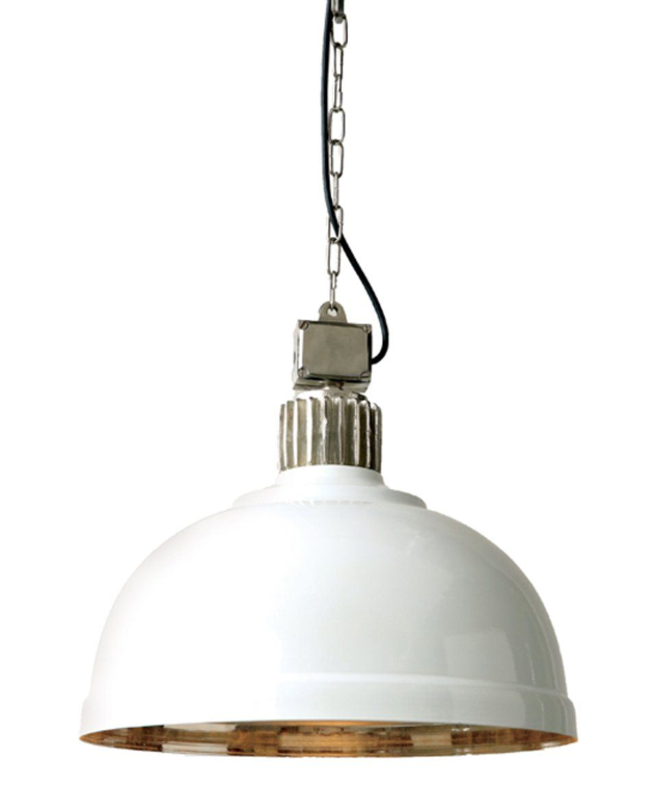 Take A Look At This 17 5 White Round Pendant Lamp Today With Images Dome Pendant Lighting Hanging Pendant Lamp Pendant Light