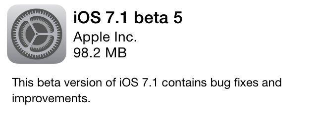 ومازالت آبل تختبر اول تحديث ضخم لنظام Ios 7 حيث أطلقت الشركة البيتا رقم 5 من Ios 7 1 لأجهزة الآيفون والآيباد للمطورين تحضيرا للإصدار النهائي ا Ios 7 Ios Gps