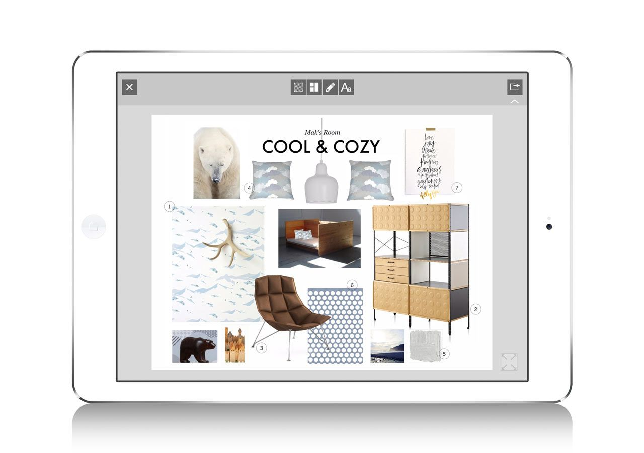 Morpholio Board Mobile App Interior Design 3 Moodboards
