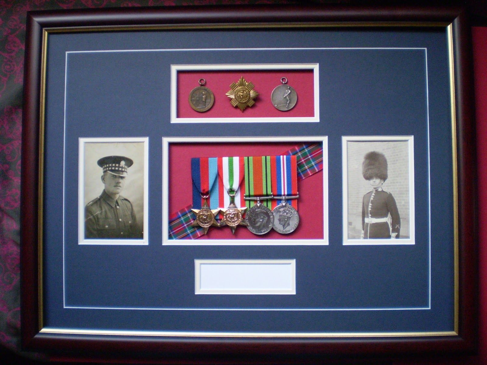 Military Medal Mounting And Framing Australia Medal Display Diy Military Shadow Box Medal Display
