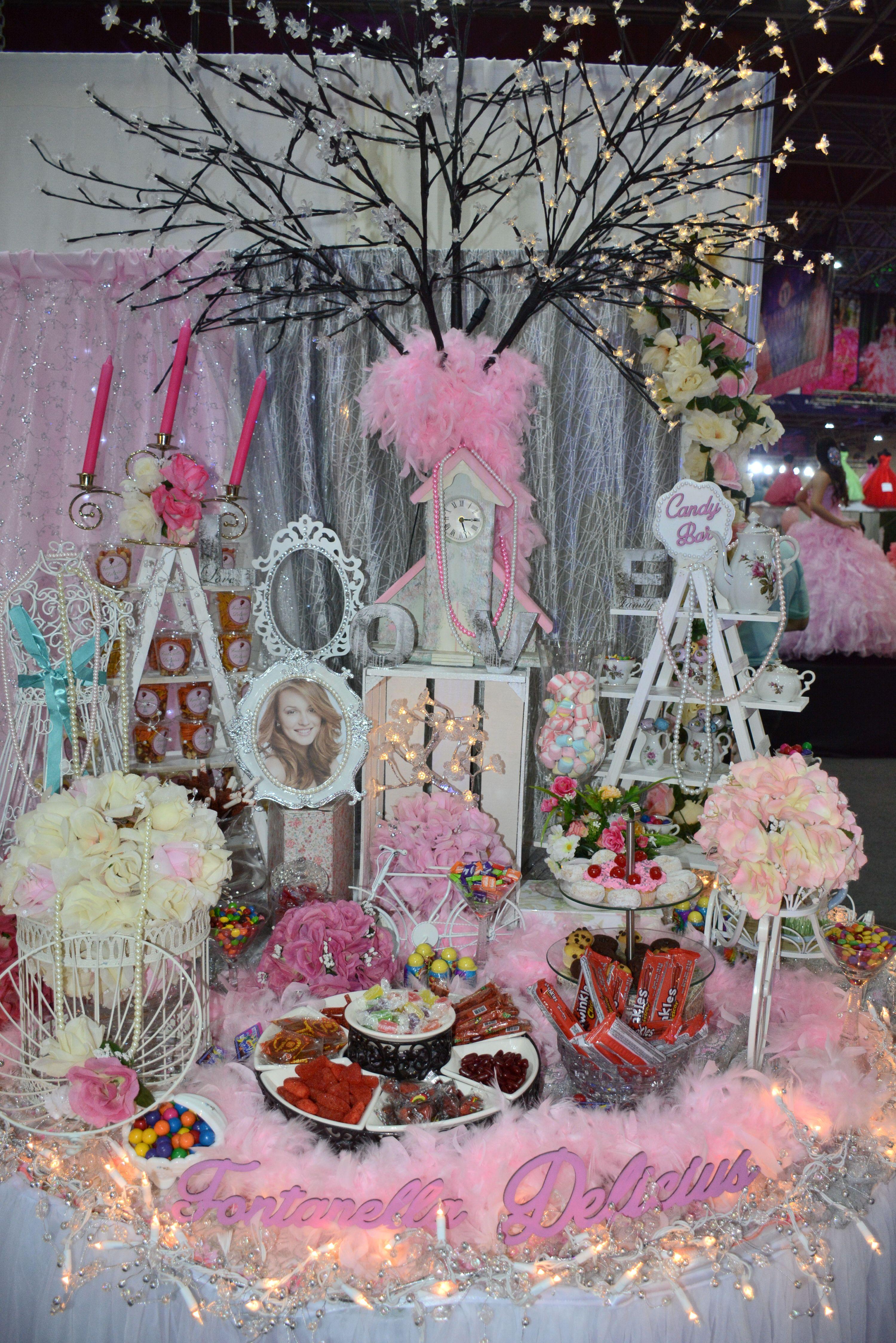 Mesa de dulces para tu quince a os mesadedulces for Mesa de dulces para xv anos