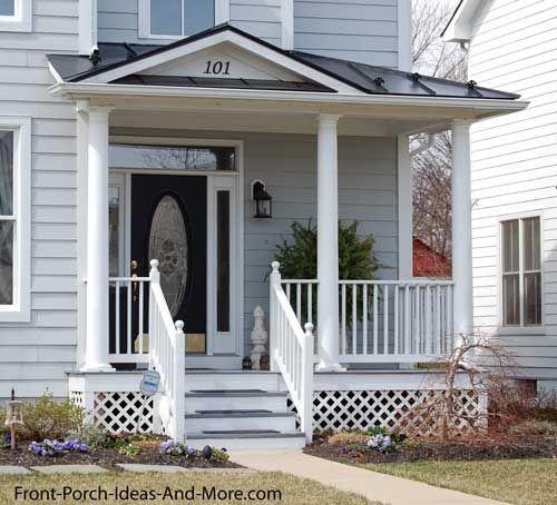 Herndon Va Front Porch Design Porch Design Porch Roof Design
