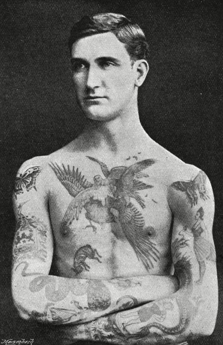 How tattoos became fashionable in victorian england in