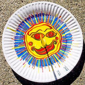 5 Sun Crafts for Kids: Paper Plate Sundial (via Parents.com)