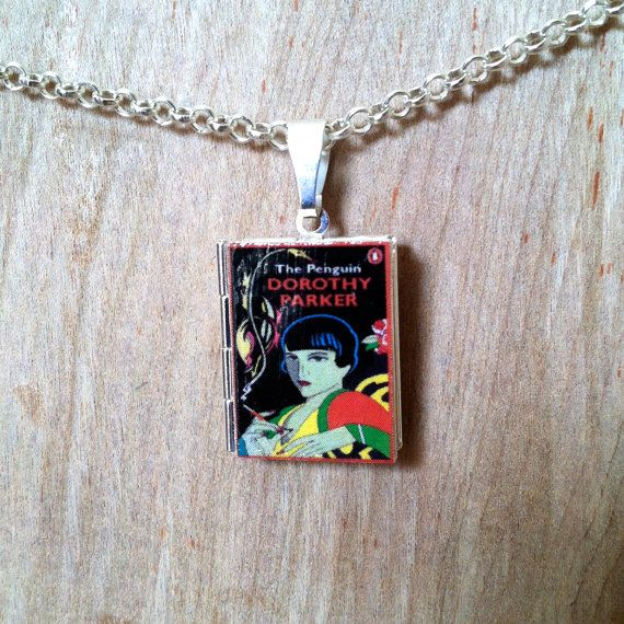 Keep your favorite book close to your heart: wear a Literary Locket around your neck. Express your love for the sharp tongued wit of writer and