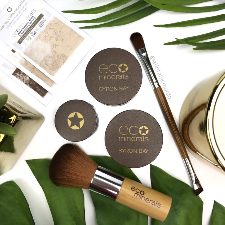 Eco Minerals Foundation, Highlighter and Eyeshadow Review