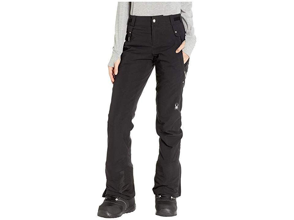 Spyder Kaleidoscope Pants BlackBlackBlack Womens Outerwear Hit the hill in style this season with these Spyder Kaleidoscope Pants GORETEX 2L shell GORETEX 2L fabric that...