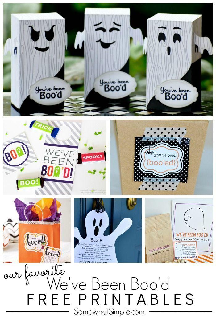 One Dozen We\u0027ve Been Boo\u0027d Printables Free printables, Halloween - halloween decoration printables