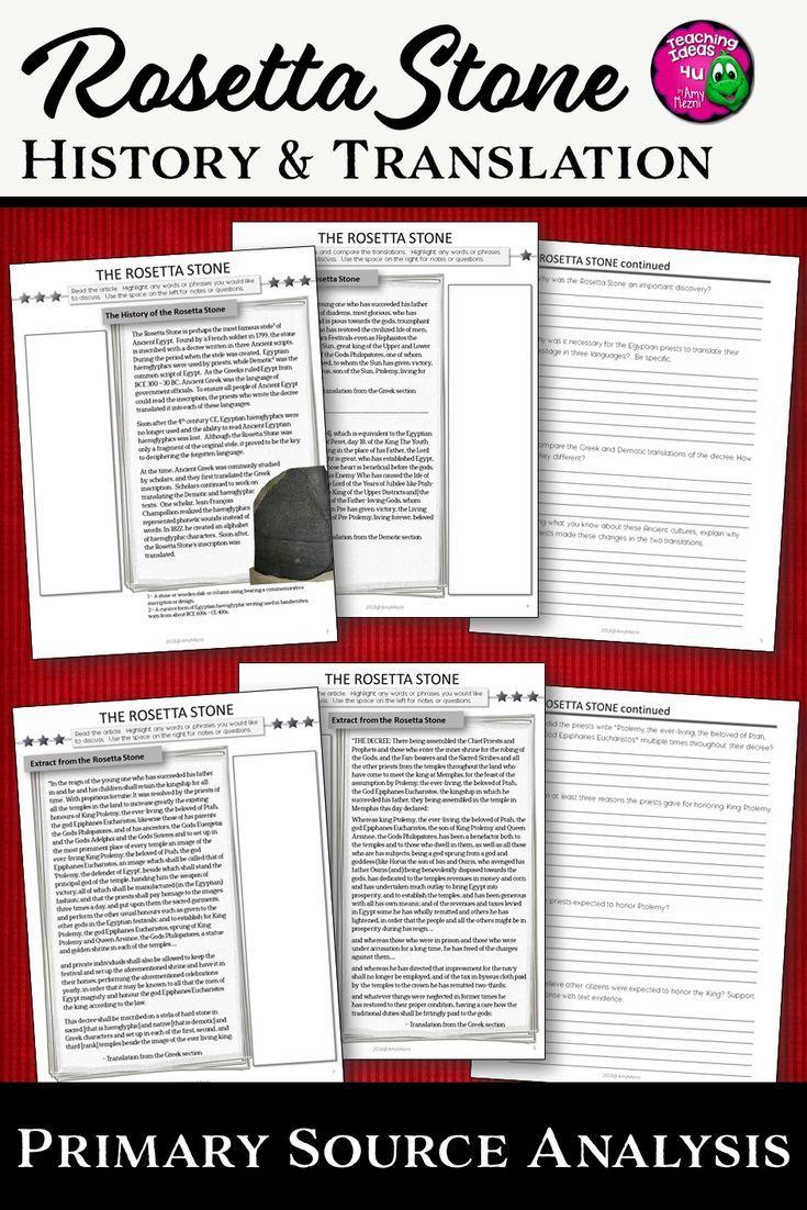 Primary homework help rosetta stone