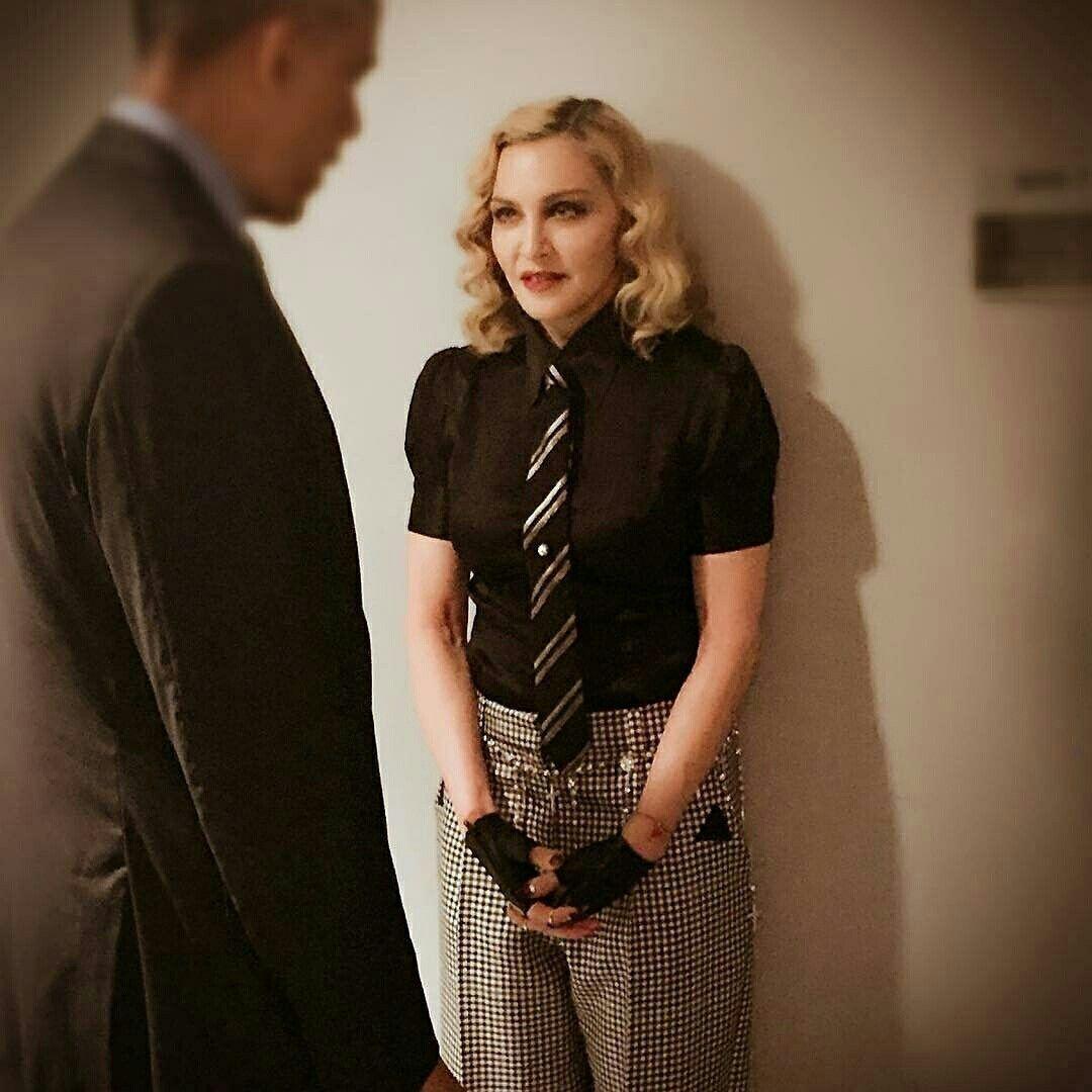 🇧🇷#Madonna com #BarackObama para a participação no programa de #JimmyFallon • • • • • • • • • • • • • • • • • • • • • • • • • • • • •  🇱🇷@madonna with @barackobama for participation in @jimmyfallon program