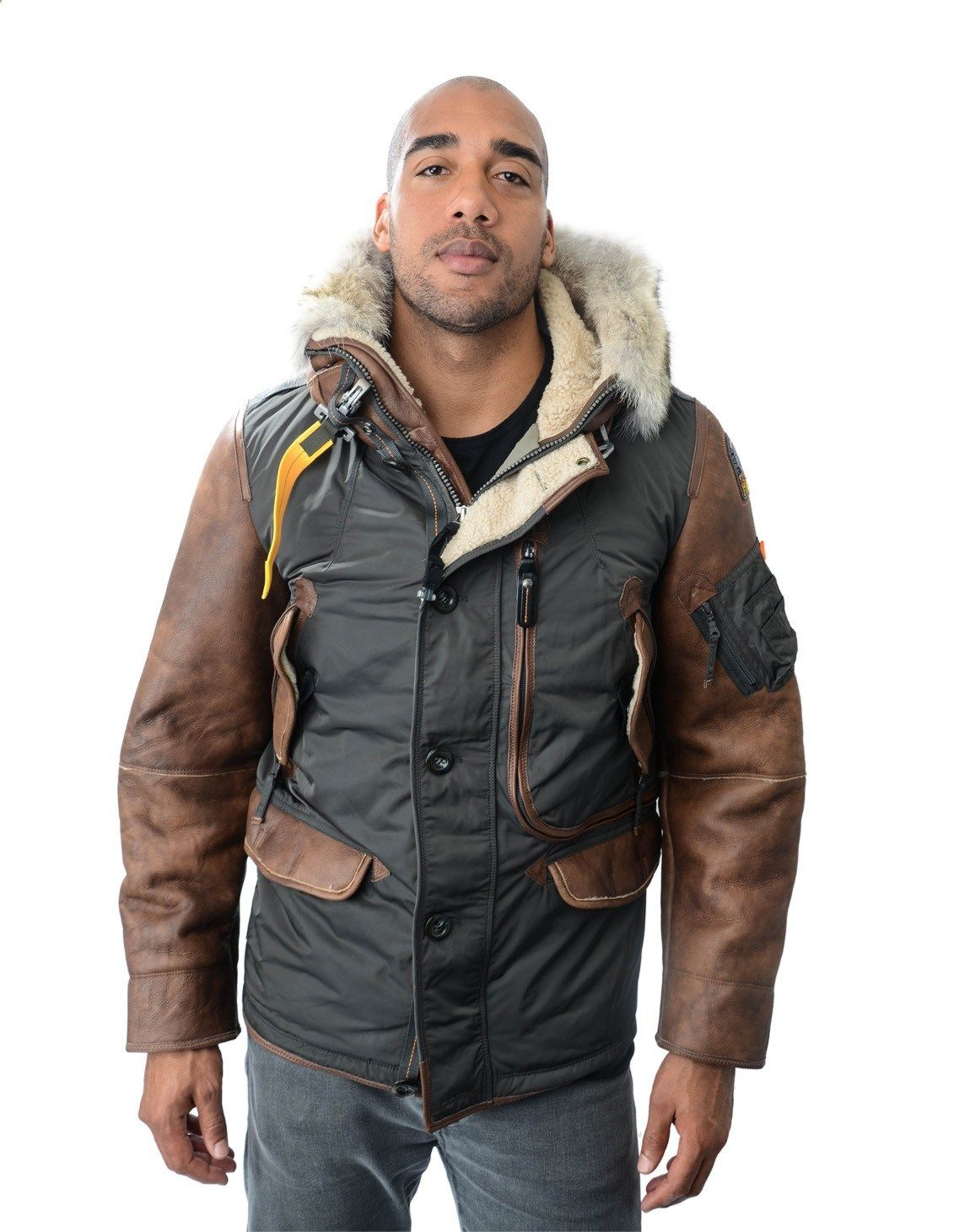 Parajumpers Right Hand Special Man Jacket Asphalt | Accent Clothing www.accentclothin.