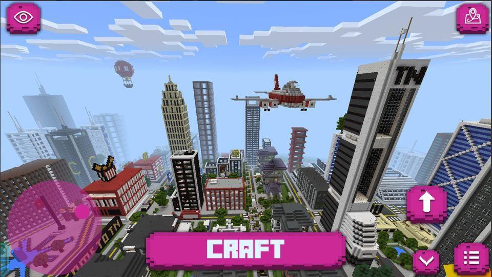 Big City Craft Modern City Build&Craft [Minecraft PE City Map
