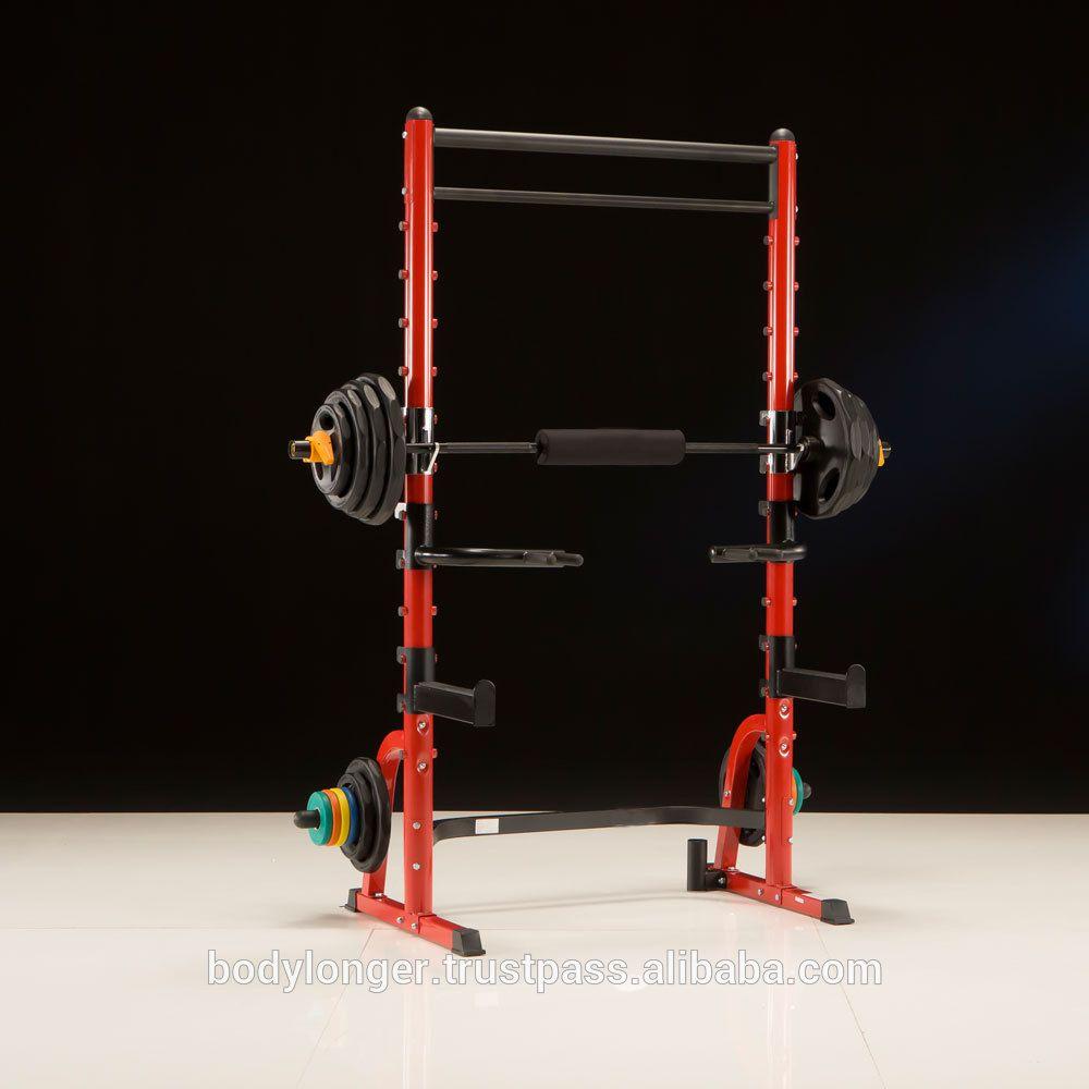 Bk3003 squat rack twin pullup bar squat rack strength