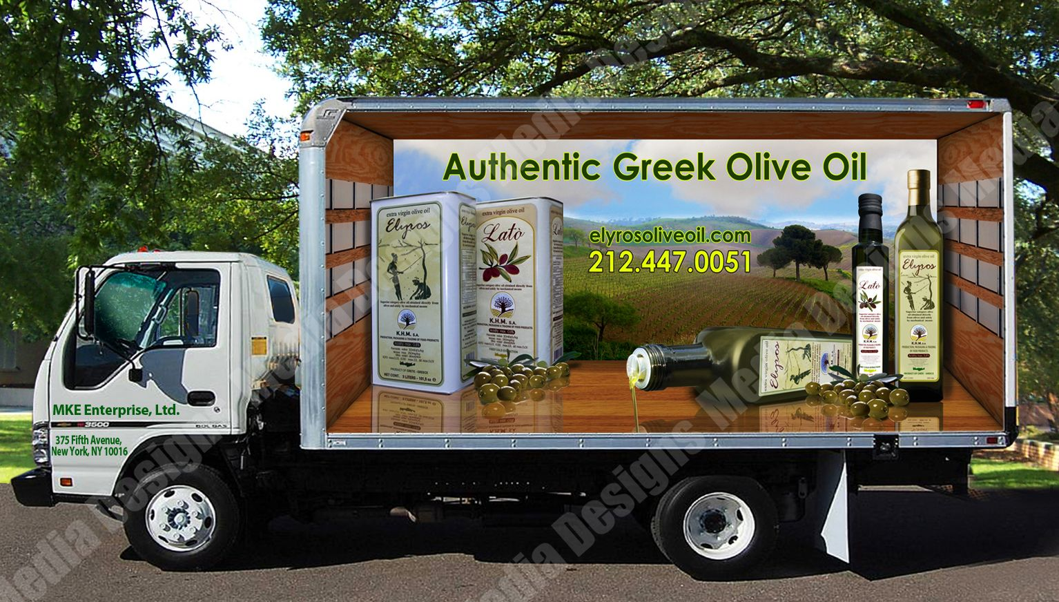 3d Trailer Wrap Design By David Bavati Our Trucks