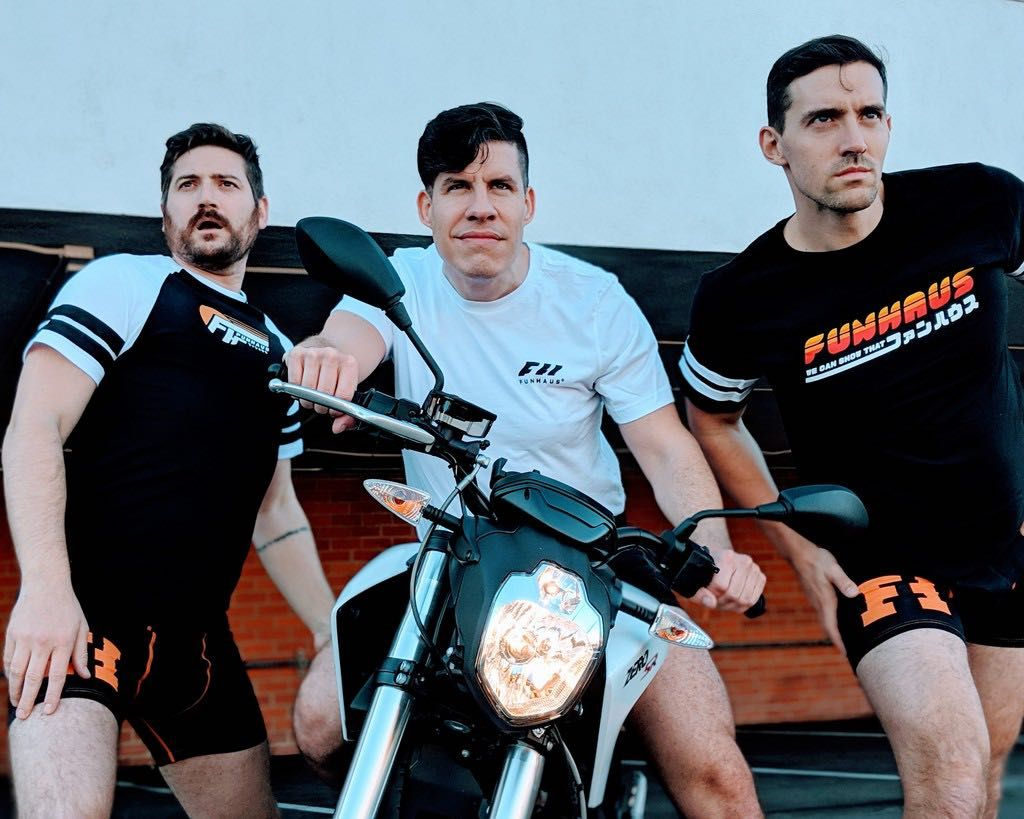 Shop the new Funhaus collection only at the Rooster Teeth Store