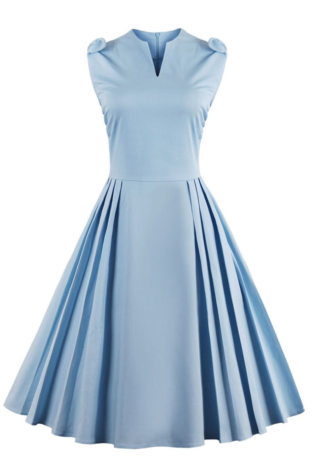 Right here Waiting Light Blue Vintage Dress in 2019  9108d94f676d