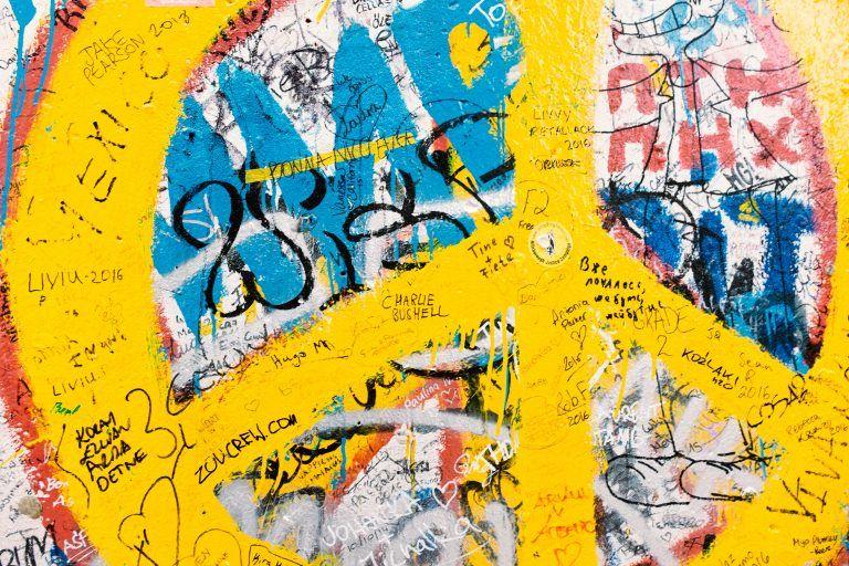 Graffiti on the Berlin Wall – Free Photo on | Berlin wall, Graffiti ...