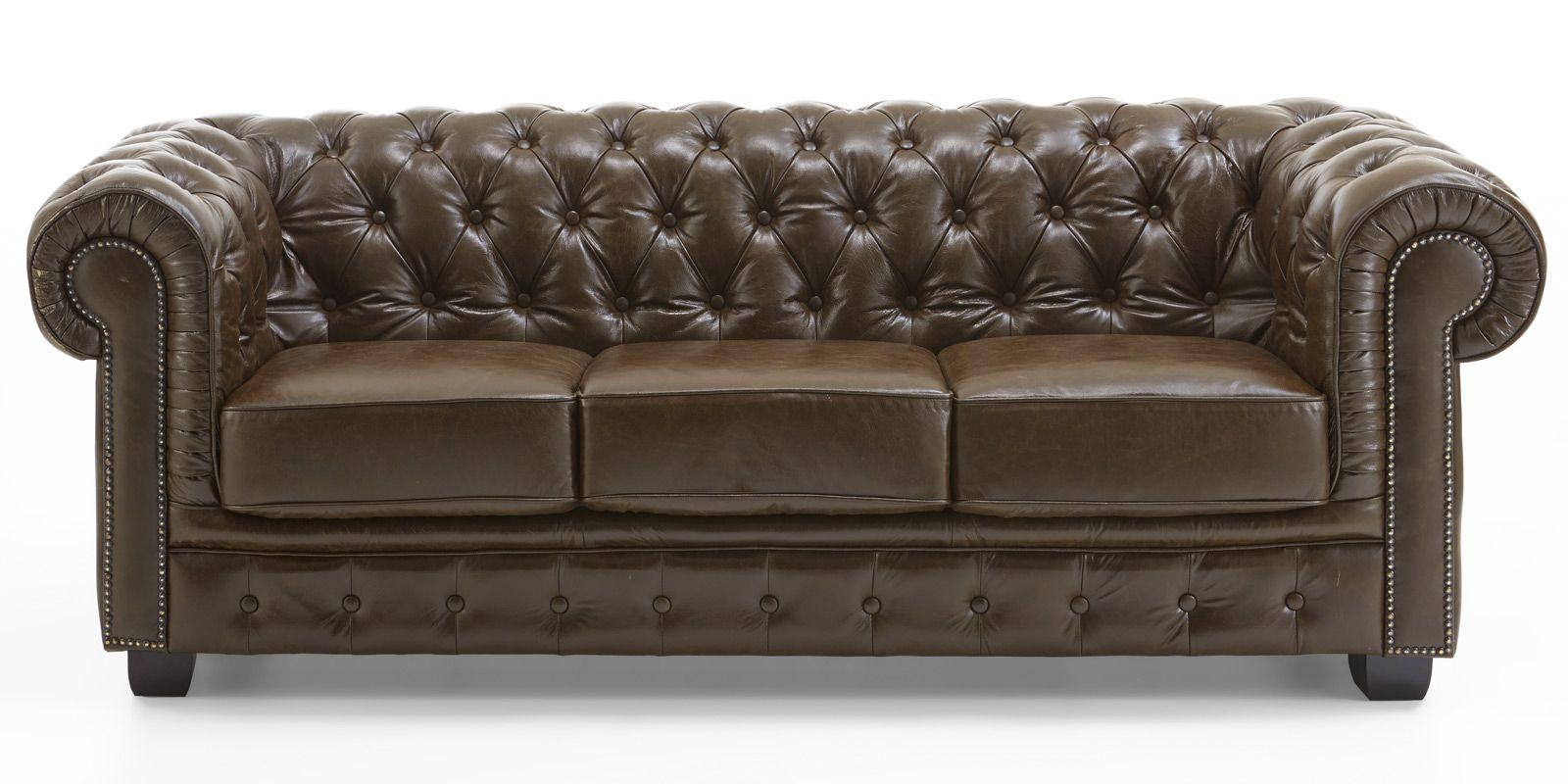 75 Regelmassig Couch Leder Braun