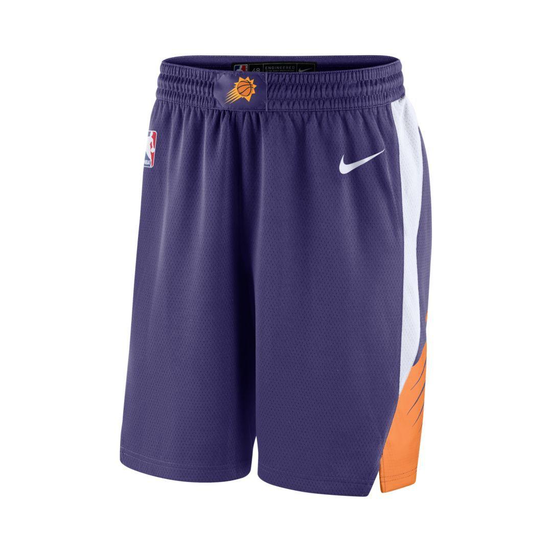 791aedf4d323 Phoenix Suns Icon Edition Swingman Men s Nike NBA Shorts Size 2XL (New  Orchid)