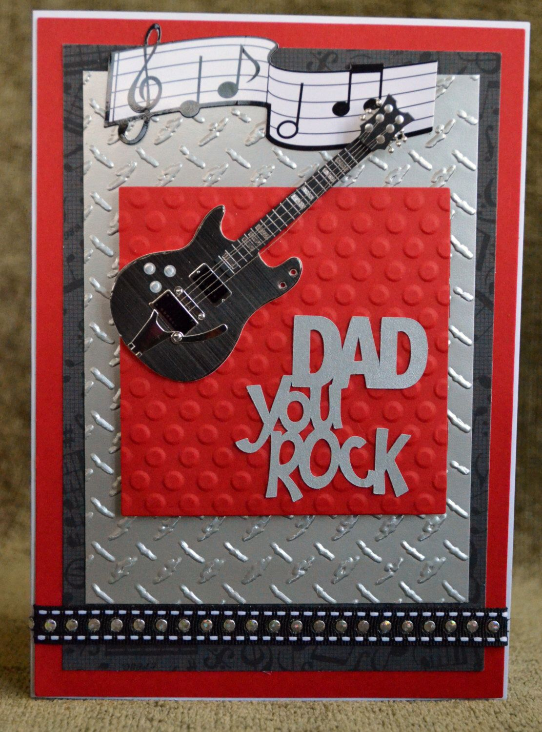 handmade father's day greeting cardhappy father's day