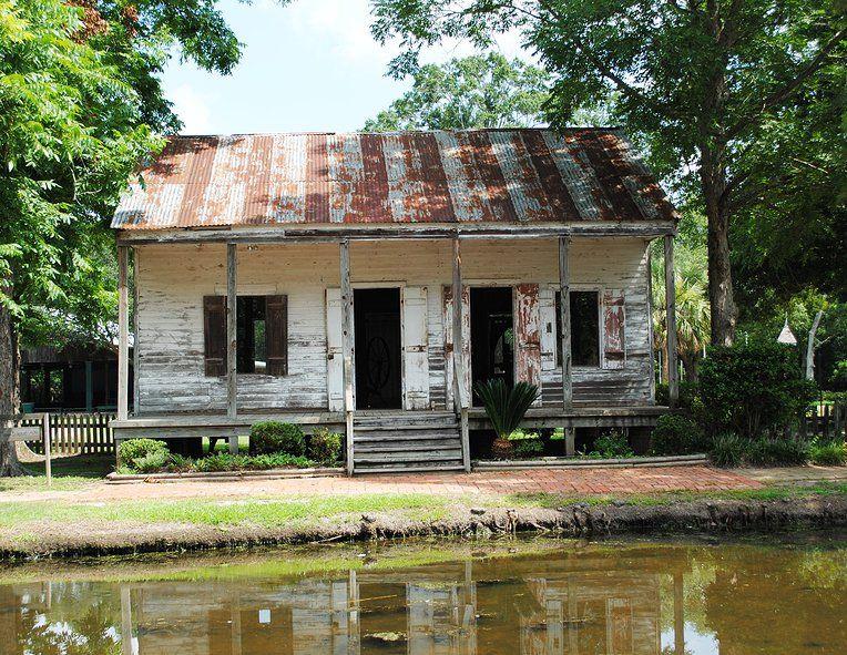 Cajun House Cracker House Abandoned Houses Creole Cottage