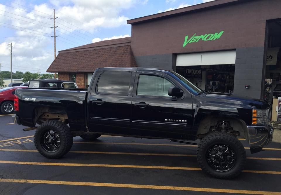 Lifted Chevy Silverado New Wheels And Tires Chevy Builds