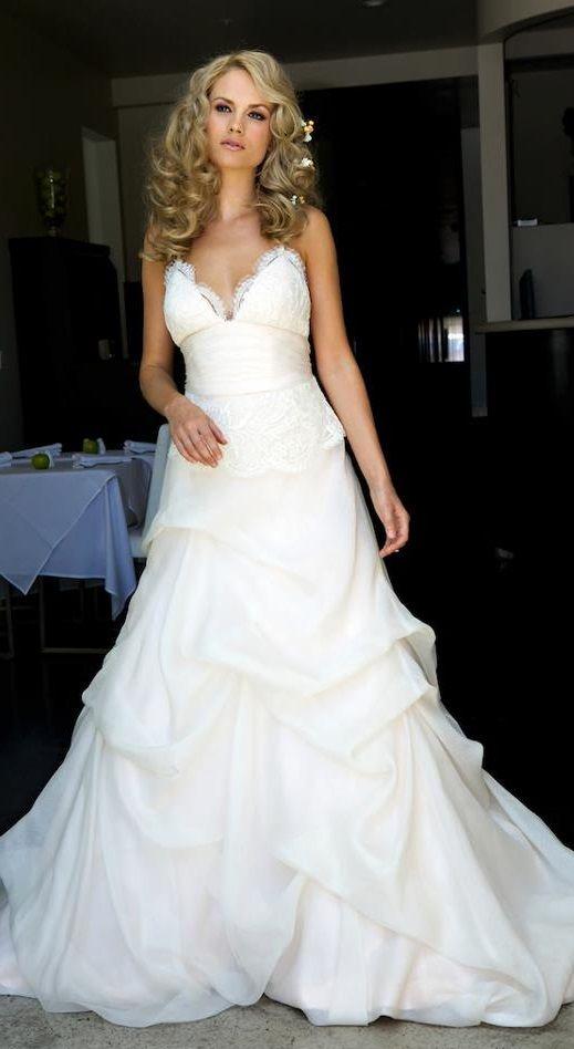 Fairytale Wedding Dress By Amy Michelson Wedding Dresses A Line