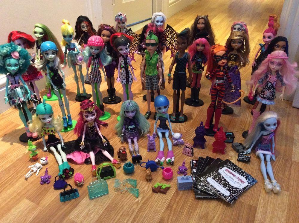 Monster High Dolls Bundle Some Rare Monster High Dolls Monster High Monster