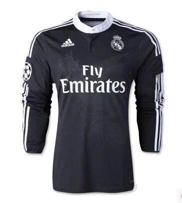 dfdc8d79e3900 De manga larga Camiseta del Real Madrid UEFA Champions League 2014 2015