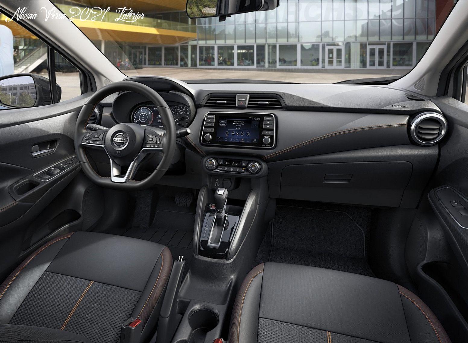Nissan Versa 2021 Interior New Concept In 2020 Nissan Versa Nissan Interior